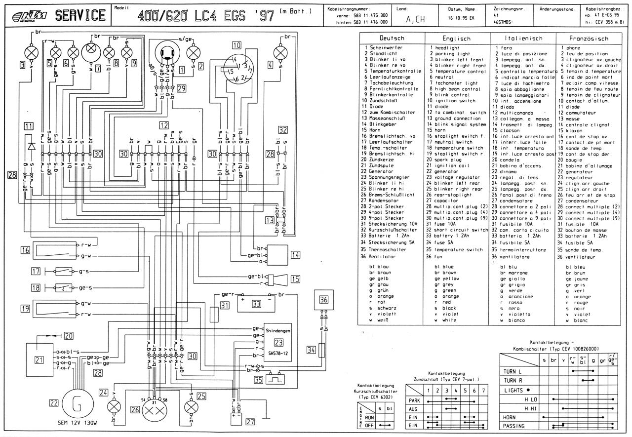 Schaltplan Lc4 400 Sc Bj 97